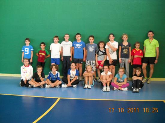 Groupe athlétisme 2011-2012
