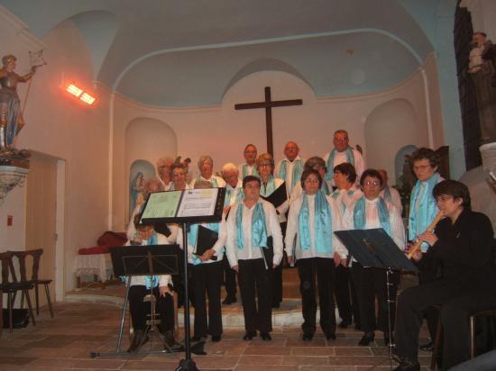 Concert à l'Eglise de Granzay - Décembre 2010