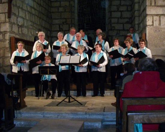 Concert à l'Eglise de St Florent au profit de la lutte contre le cancer, Décembre 2010