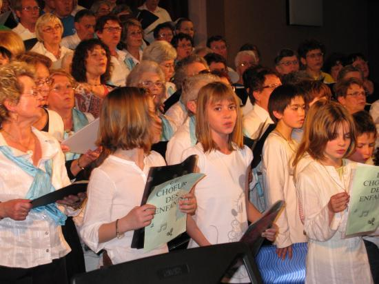 La Chorale de Frontenay Rohan Rohan chante en choeur