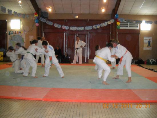 Judo 06 téléthon 2011