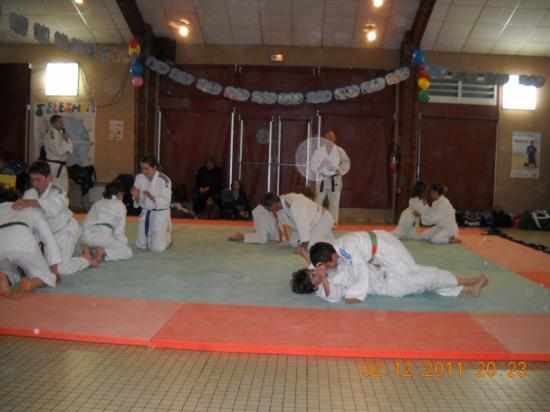Judo 09 téléthon 2011