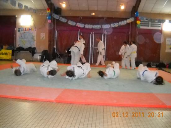 Judo 11 téléthon 2011