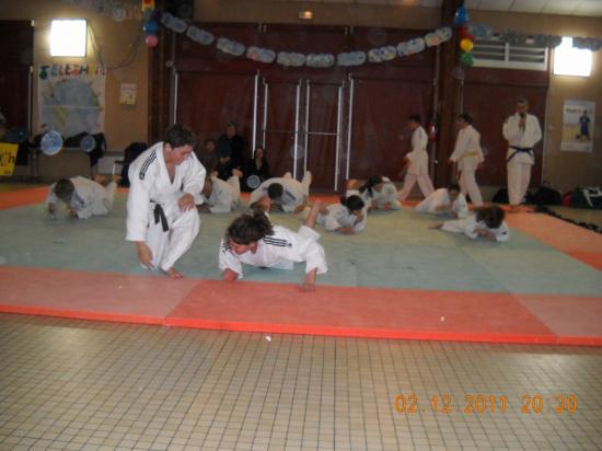Judo 12 téléthon 2011
